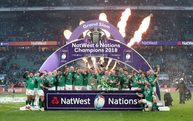 Ireland are the reigning champions