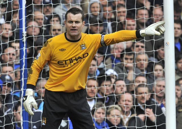 Shay Given, Manchester City goalkeeper