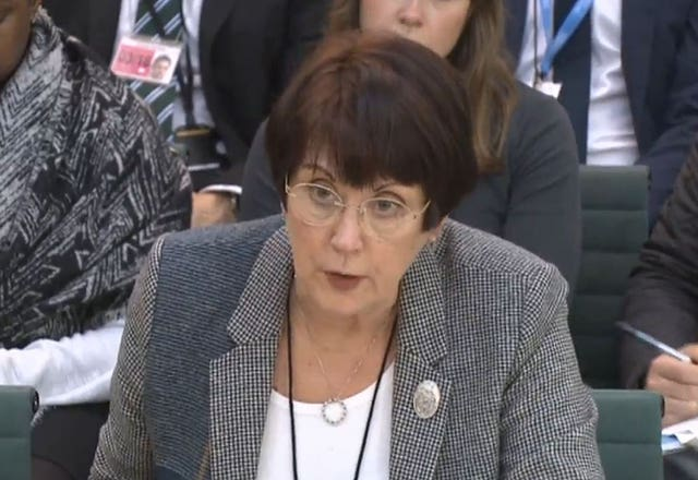 Dame Judith Hackitt, who chairs the Independent Review of Building Regulations and Fire Safety (PA)