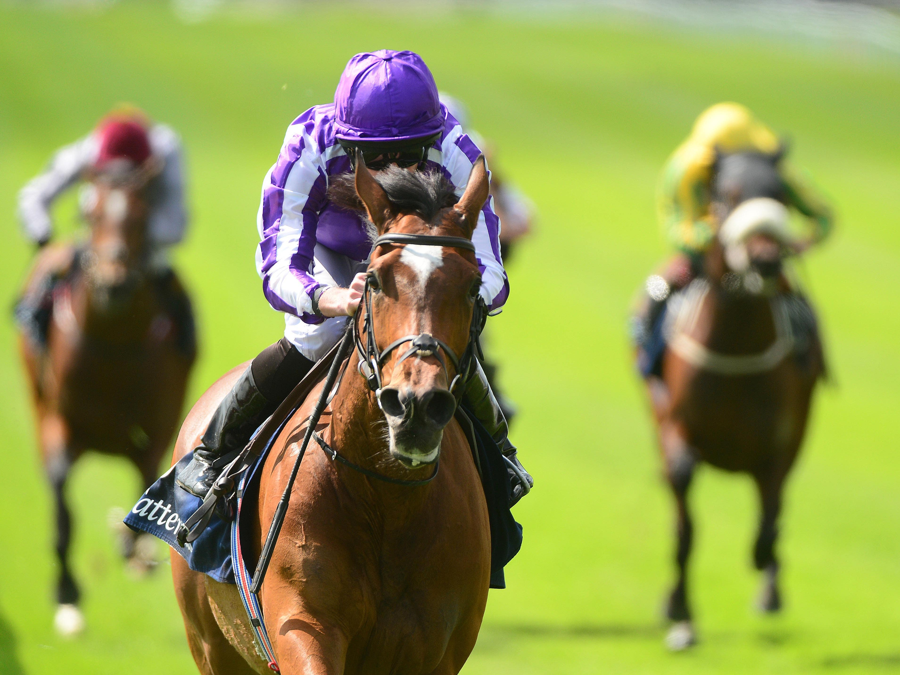 Magical wins the Tattersalls Gold Cup at the Curragh (PA)