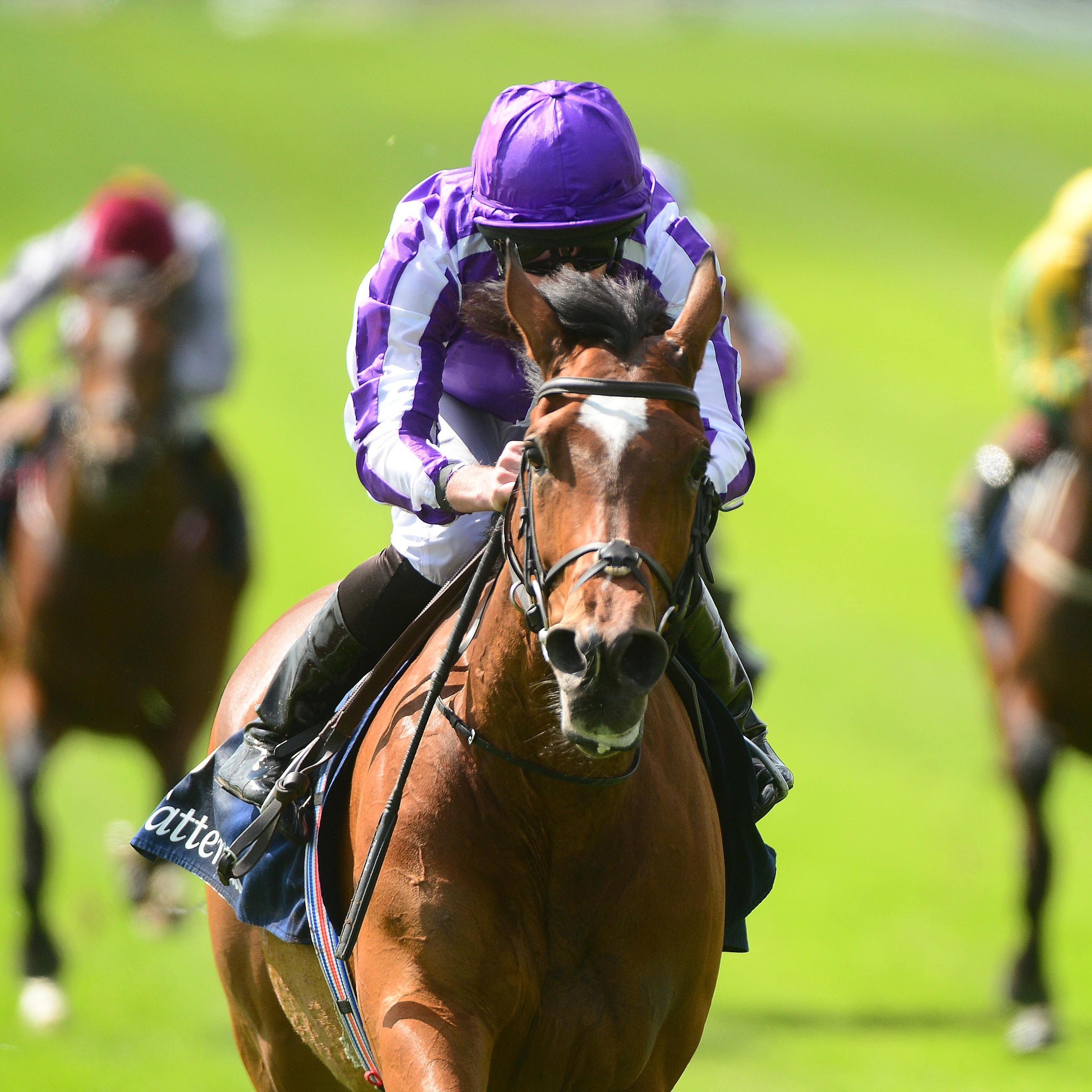 Magical wins the Tattersalls Gold Cup at the Curragh