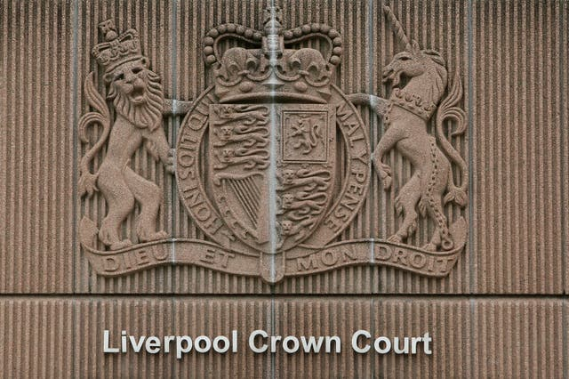 Liverpool crown court stock