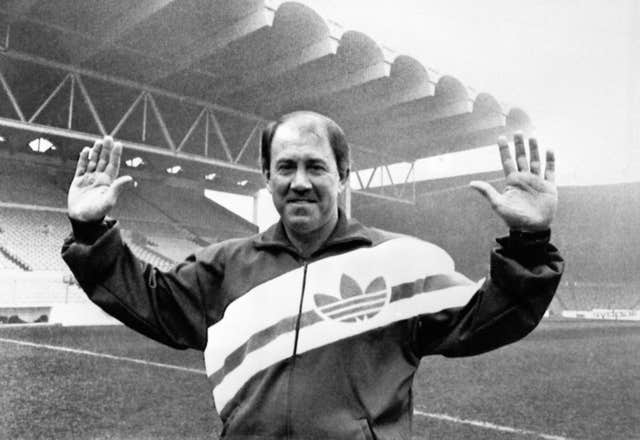 Soccer – Manchester City F.C. – Howard Kendall