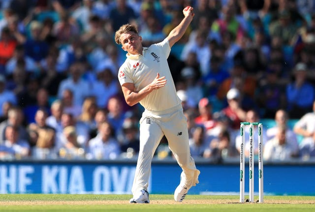 Sam Curran is set to battle with Chris Woakes for the final seam bowling spot