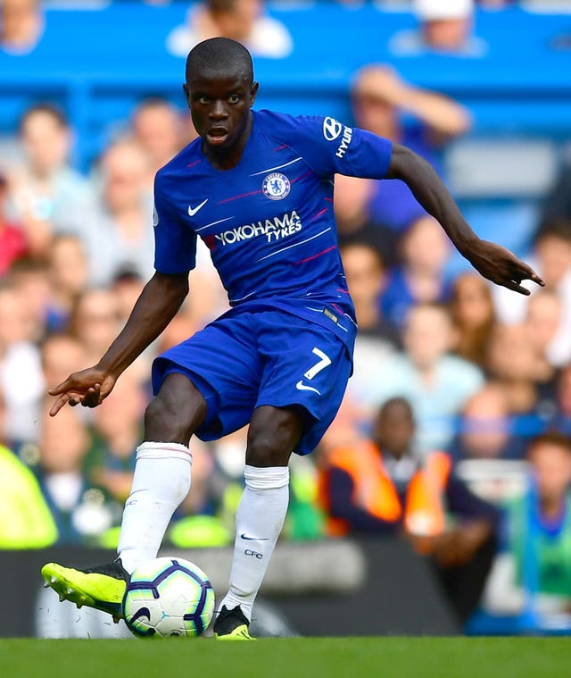N'Golo Kante is expected to return for Chelsea after a rare midweek rest