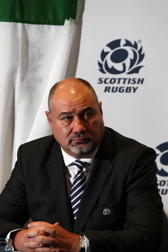 Rugby Union – Scotland Sponsorship Announcement – Murrayfield