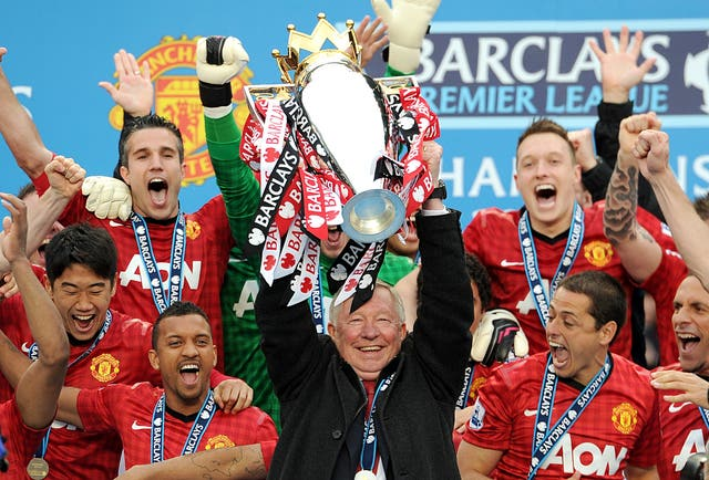 Manchester United have not won the Premier League since Sir Alex Ferguson retired