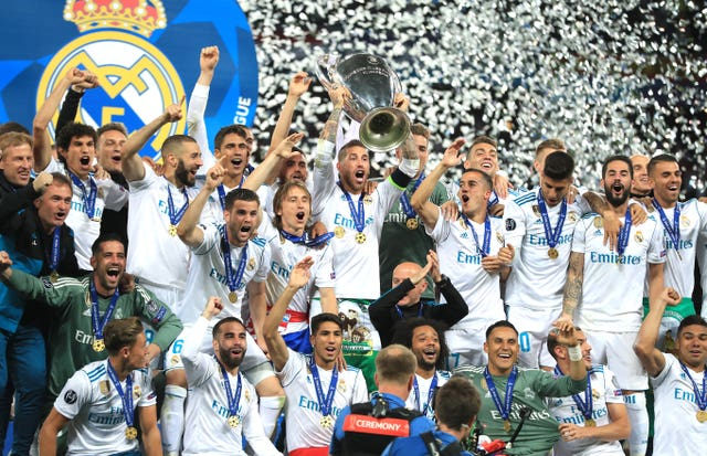Real have won the Champions League or European Cup a record 13 times