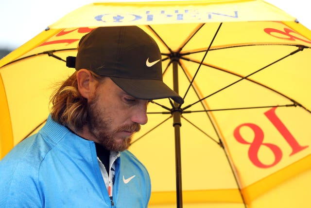 Tommy Fleetwood finished second at Royal Portrush