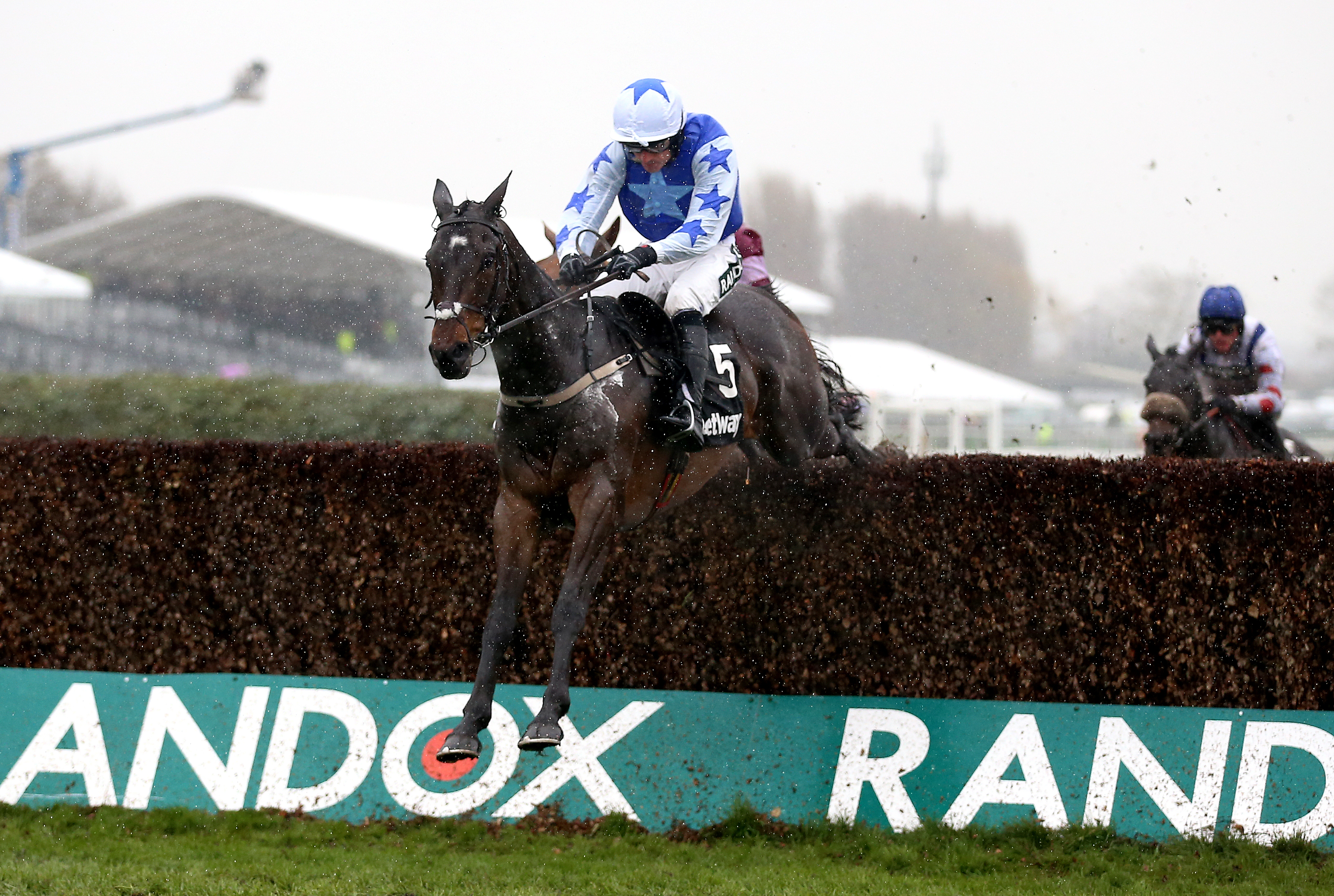 Kemboy and Ruby Walsh on their way to winning the Betway Bowl at Aintree