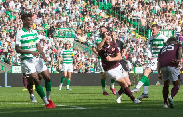 Callum McGregor was on target as Celtic beat Hearts