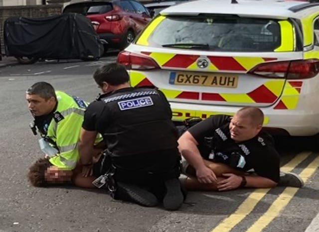 Sussex Police restraint video review