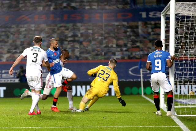 Rangers enjoyed a gr-eight weekend, thrashing Hamilton 8-0 to send out a statement to title rivals Celtic, who are nine points behind Steven Gerrard's team albeit with two matches in hand