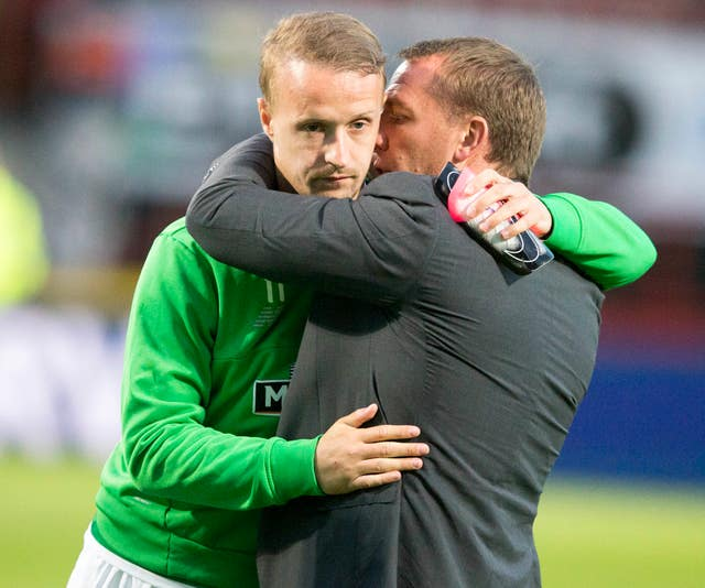 Brendan Rodgers had some words of advice for Leigh Griffiths