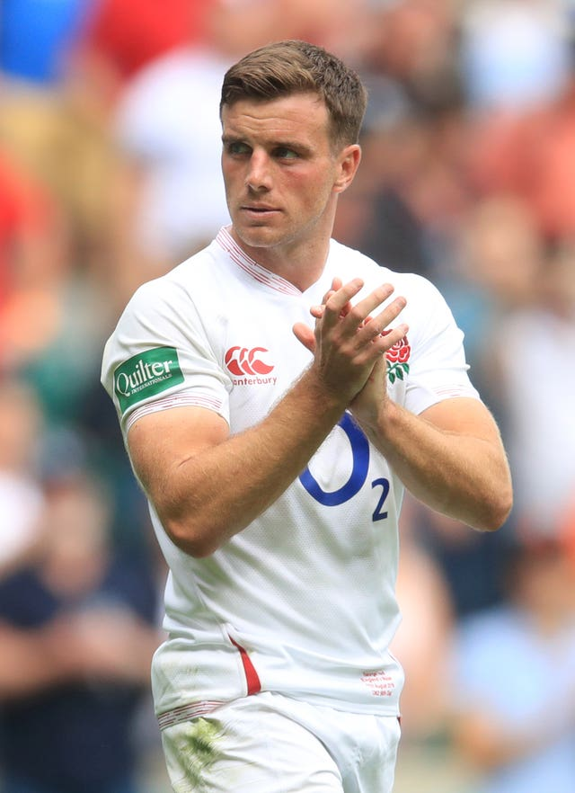 George Ford says England are now calmer when the pressure is on