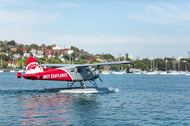 The de Havilland Canada DHC-2 Beaver floatplane, registered VH-NOO (Sydney Seaplanes/ATSB/PA)