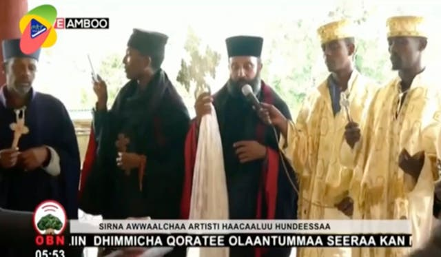 The funeral for Ethiopia singer Hachalu Hundessa