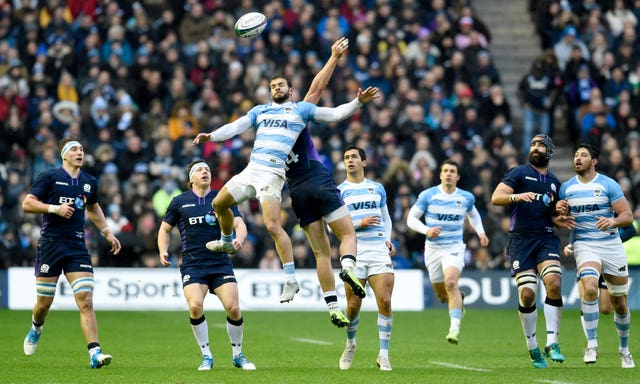 It was a scrappy start at Murrayfield