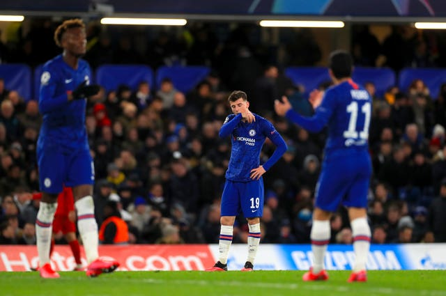 Chelsea were beaten 3-0 at home to Bayern Munich in the Champions League in midweek