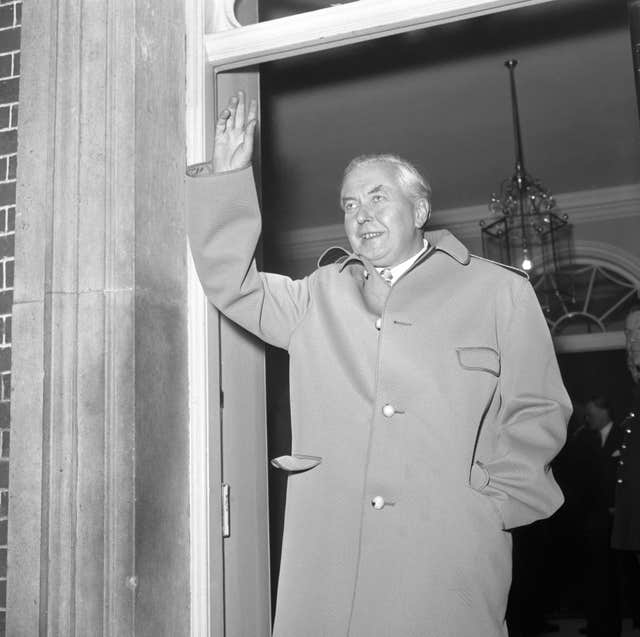 Politics – Harold Wilson – Downing Street, London