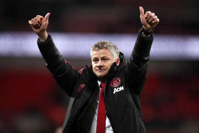 Ole Gunnar Solskjaer came out on top at Wembley