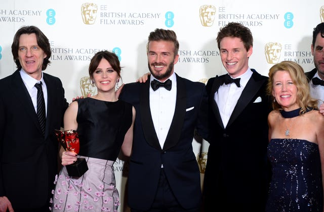 BAFTA Film Awards 2015 – Press Room – London