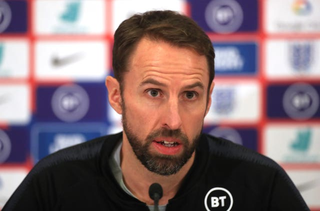 Southgate refused to disclose details of the incident in Tuesday's press conference