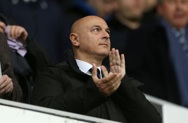 Daniel Levy is happy with his new manager