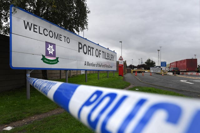 The bodies are to be collected from the Port of Tilbury
