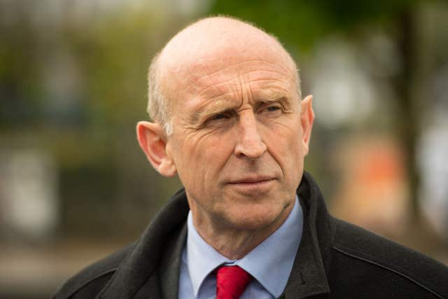 Shadow defence secretary John Healey