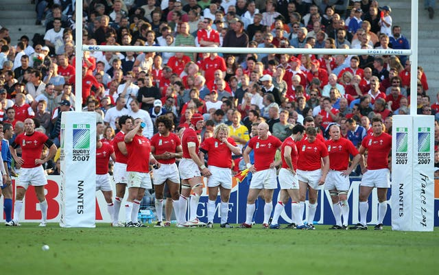 Wales were beaten by Fiji in the 2007 World Cup