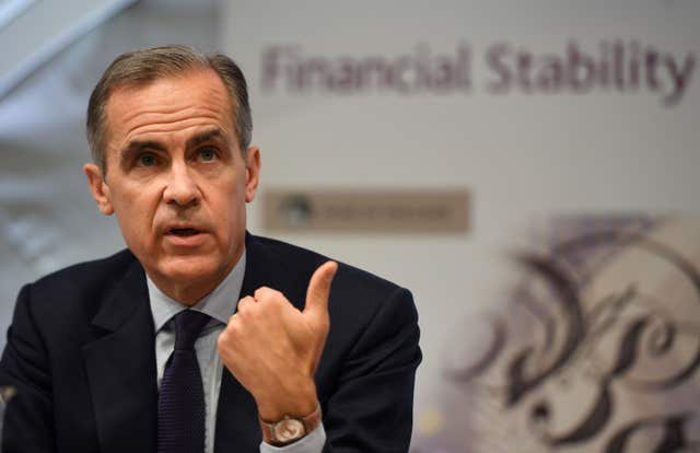 One and done? Bank of England Governor Mark Carney has hinted at gradual rate rises (PA)