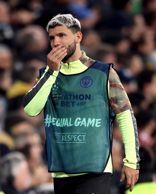 Sergio Aguero hit out at a Wigan fan after they had allegedly abused the Manchester City forward