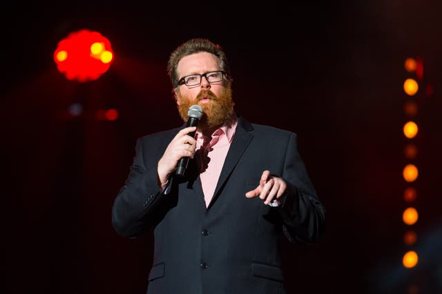 Frankie Boyle admitted to feeling