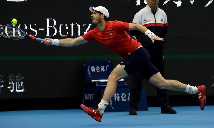 Andy Murray has shown encouraging form and fitness in Asia