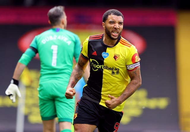 Troy Deeney was Watford's match-winner against Newcastle