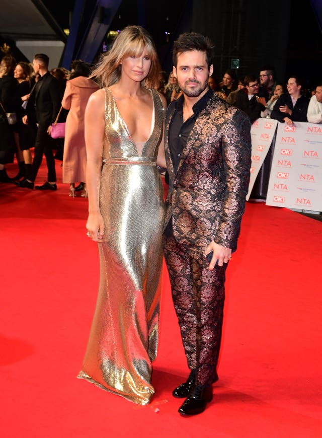 Vogue Williams and Spencer Matthews