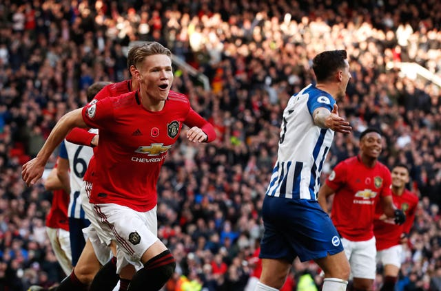 Scott McTominay could return against Aston Villa