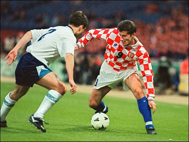 Davor Suker, right, won the World Cup golden boot in 1998 (PA)