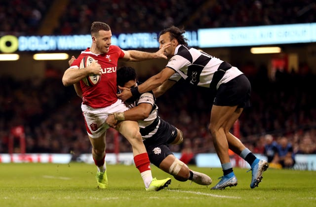 Gareth Davies could be back for Wales next weekend