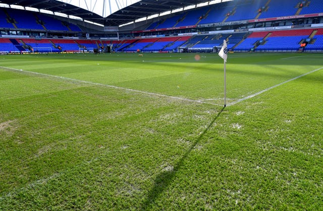 Bolton will stage matches at the University of Bolton Stadium until the end of the season