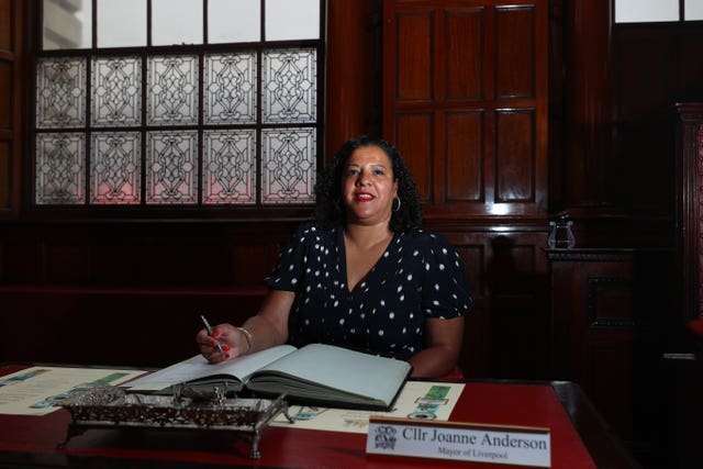 Mayor of Liverpool Joanne Anderson