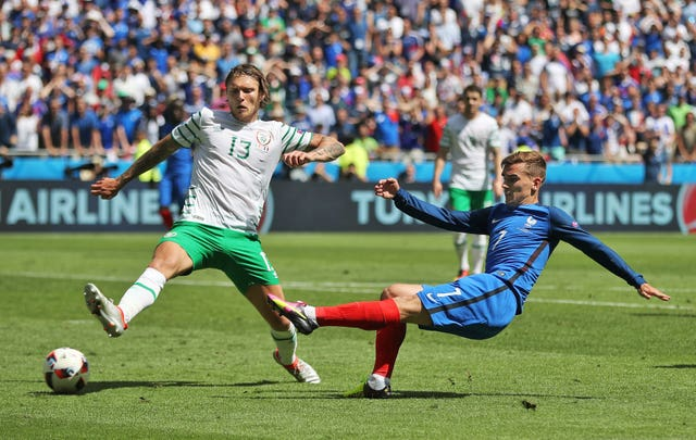 Jeff Hendrick was a standout performer for Ireland at Euro 2016