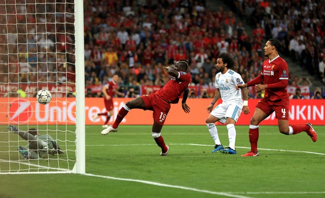 Mane scored in the Champions League final against Real Madrid in Kiev a year ago