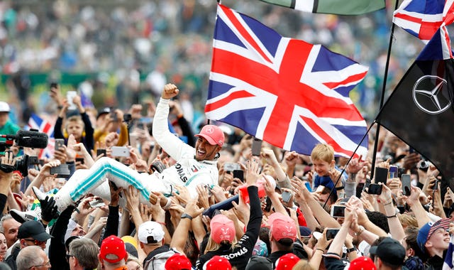 Mercedes driver Lewis Hamilton will not have any fans to cheer him on at Silverstone this year