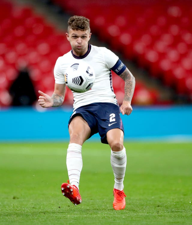 Kieran Trippier captained England against Wales last week