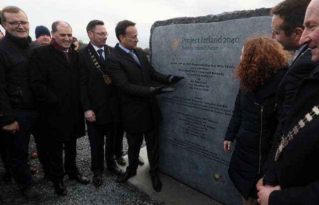 Taoiseach Leo Varadkar opens Rose Fitzgerald Kennedy Bridge