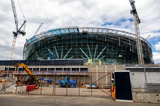 Tottenham Hotspur New Stadium Construction