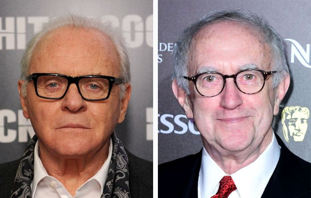 Sir Anthony Hopkins (left) and Jonathan Pryce missed out