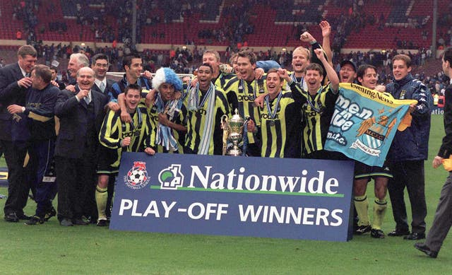 City beat Gillingham in a dramatic encounter at Wembley in 1999